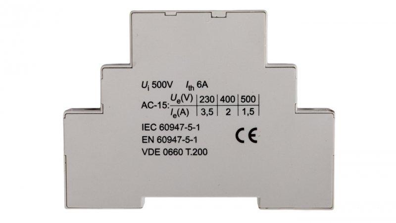 Styk pomocniczy 1Z 1R montaż boczny HS11 004600173