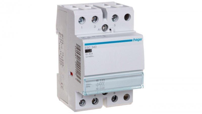 Stycznik modułowy 40A 3Z 0R 230V AC ESC340