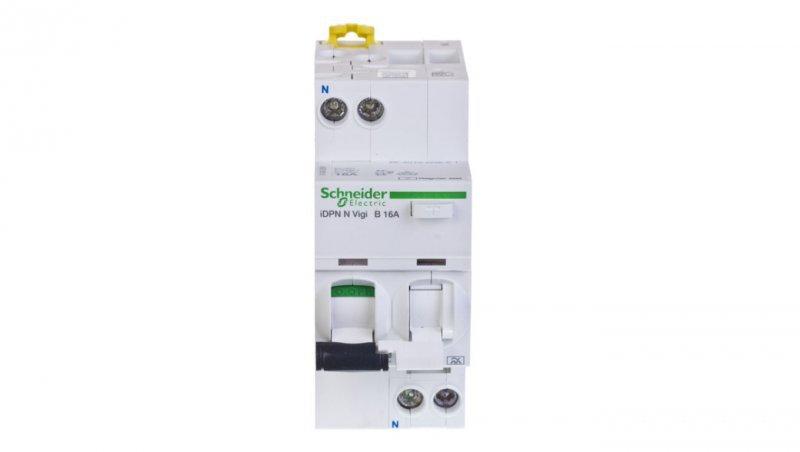 Wyłącznik różnicowo-nadprądowy 2P 16A B 0,03A typ A iDPN N VIGI A9D56616