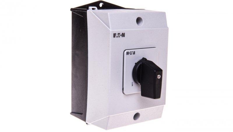 Łącznik krzywkowy 0-1 1P 20A w obudowie IP65 T0-1-15401/I1 207067