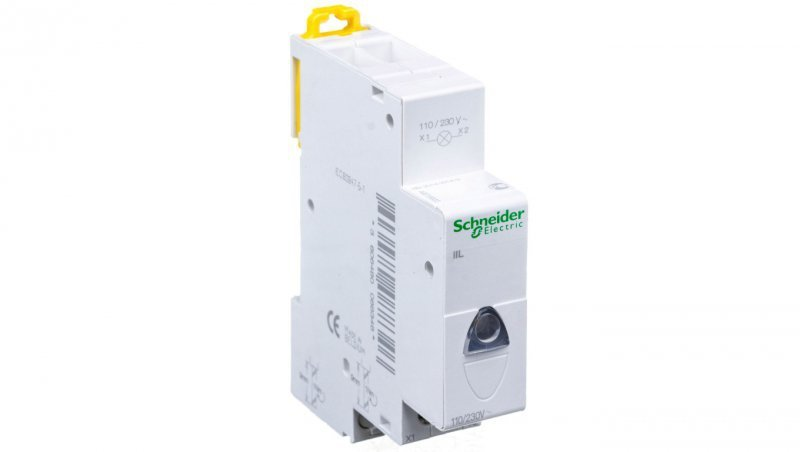Lampka modułowa biała 110-230V AC iIL A9E18322