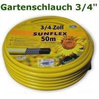 Gartenschlauch Sunflex 3/4 50 Meter Lang