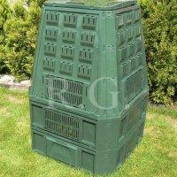 Thermokomposter 800 L dunkelgrün