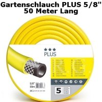 Gartenschlauch Plus 5/8 50 Meter Lang