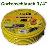 Gartenschlauch Sunflex 3/4 30 Meter Lang