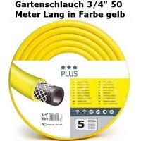 Gartenschlauch Plus 3/4 50 Meter Lang
