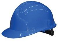 Bauarbeiterhelm Bauhelm Helm Schutzhelm Farbe blau
