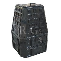 Thermokomposter 850 L schwarz