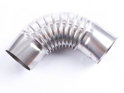 Ofenknie Bogen 90° Knie Ofenrohr Winkel 160 mm