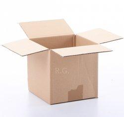 20x Faltkarton Karton 150x150x150