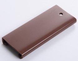 Handlauf Kunststoffhandlauf PCV Geländer 40x8 Farbe Braun