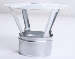 Regenhaube Regenhut Einsteck für Ofenrohre Kamin verzinkt 100
