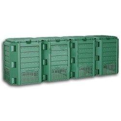 Komposter Kompostbehälter Thermokomposter 1600 L grün