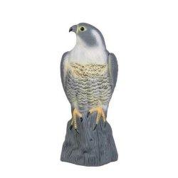 12x Taubenschreck Vogelscheuche Taubenabwehr Vogelabwehr - stehender Falke