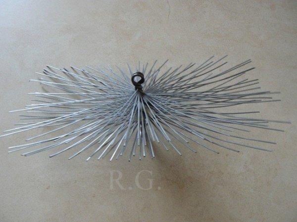 Schornsteinbesen Rechteckig Kaminbesen aus Stahl 26 x 28cm