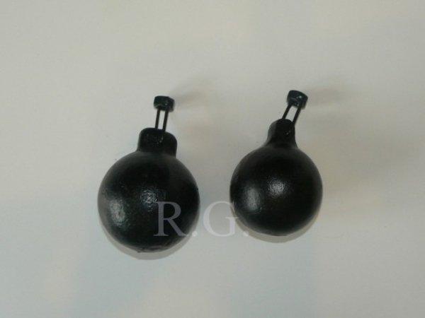 Reinigungsset Kaminbesen 20cm aus Stahl mit Schubstange 8m und Zuggewicht 2,5kg