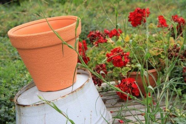 Blumentopf Pflanztopf Massiv classic 46 anthrazit