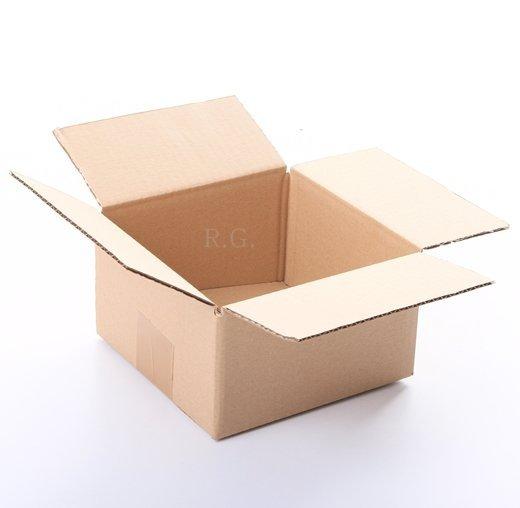 50x Faltkarton Karton 150x150x80