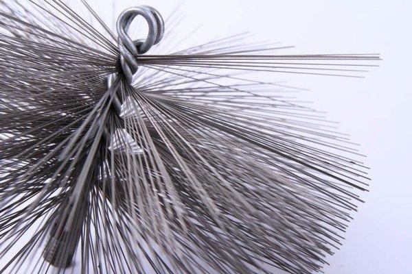 Schornsteinbesen Kaminbesen aus Stahl 27,5cm