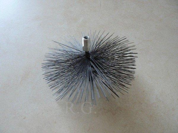 Schornsteinbesen Kaminbesen aus Stahl 19cm