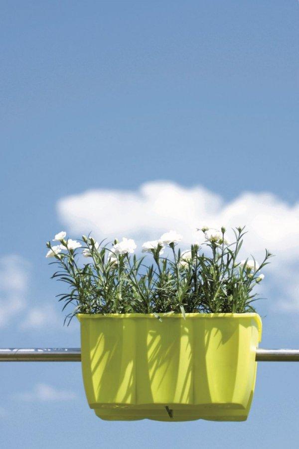Blumenkasten Balkonkasten crown 400 terrakotta