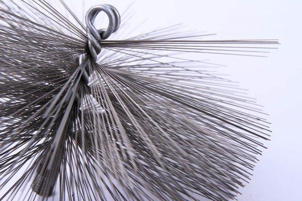 Schornsteinbesen Kaminbesen aus Stahl 30cm
