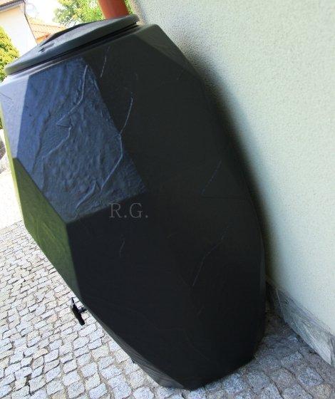 Regentonne Regenwassertonne Regenbehälter 310L Anthrazit