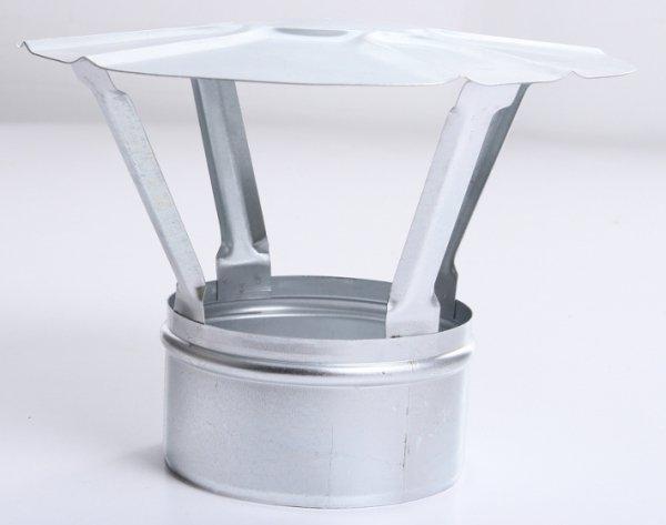 Regenhaube Regenhut Einsteck für Ofenrohre Kamin verzinkt 200