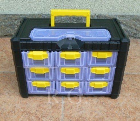 Sortimentskasten Sortimentsbox Kleinteilemagazin NS303