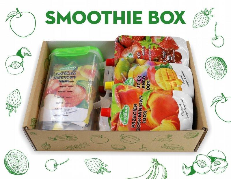 SMOOTHIE BOX - Przeciery i soki owocowe 8l smoothie + dzbanek gratis