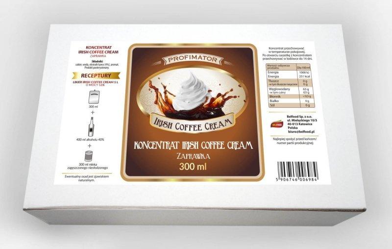 Zaprawka na likier IRISH COFFEE CREAM 300ml/1l
