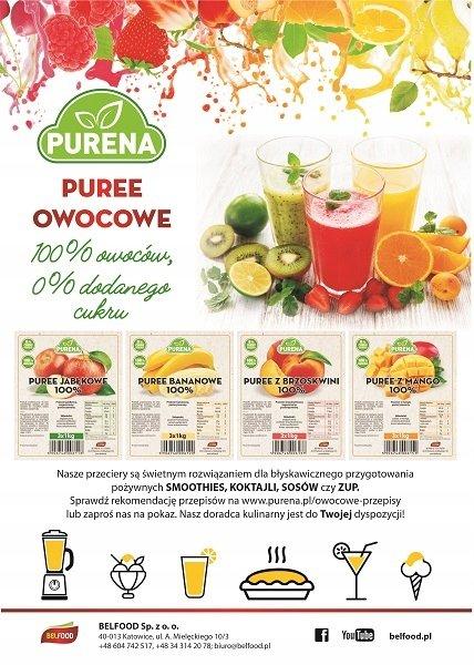 Pulpa (puree) z jabłek 100% b/c 3x1kg