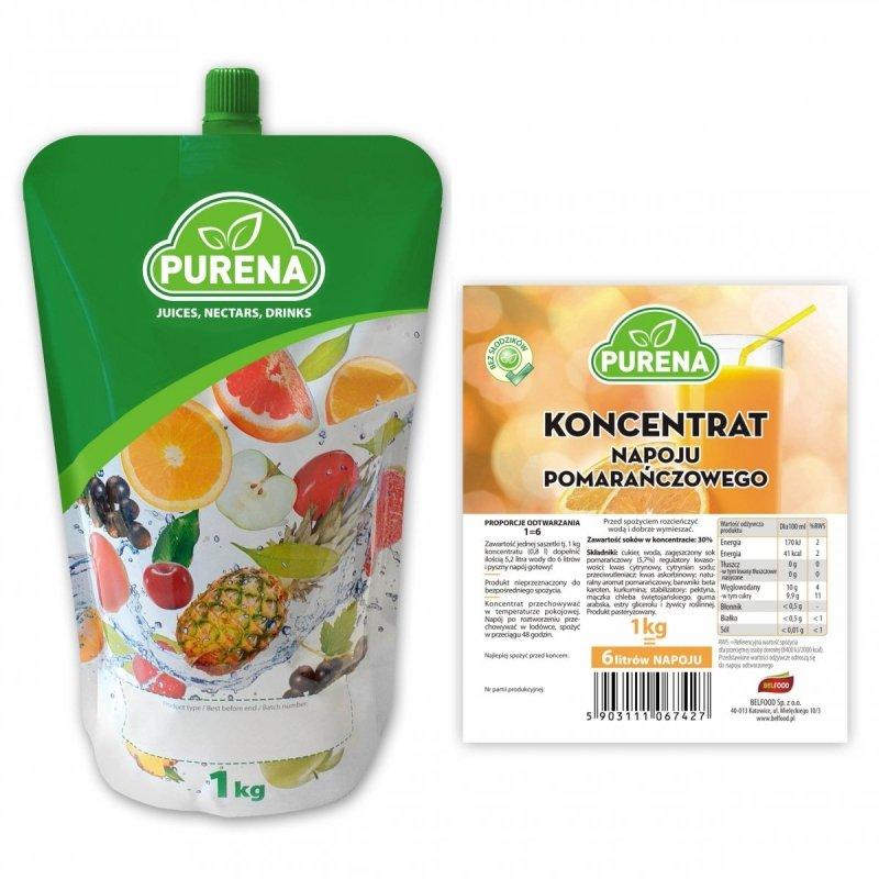 Napój pomarańczowy koncentrat 6l/1kg