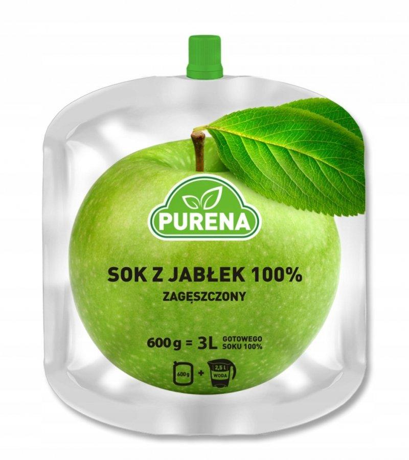 Sok jabłkowy 100% zagęszczony 3l / 600g