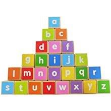 Holzzug große Alphabetblöcke pädagogisch