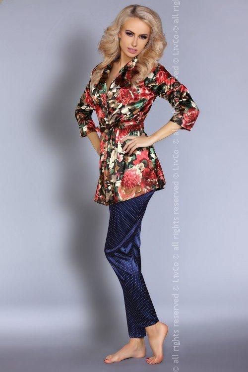 Szlafrok + spodnie Frida Secret Garden Collection