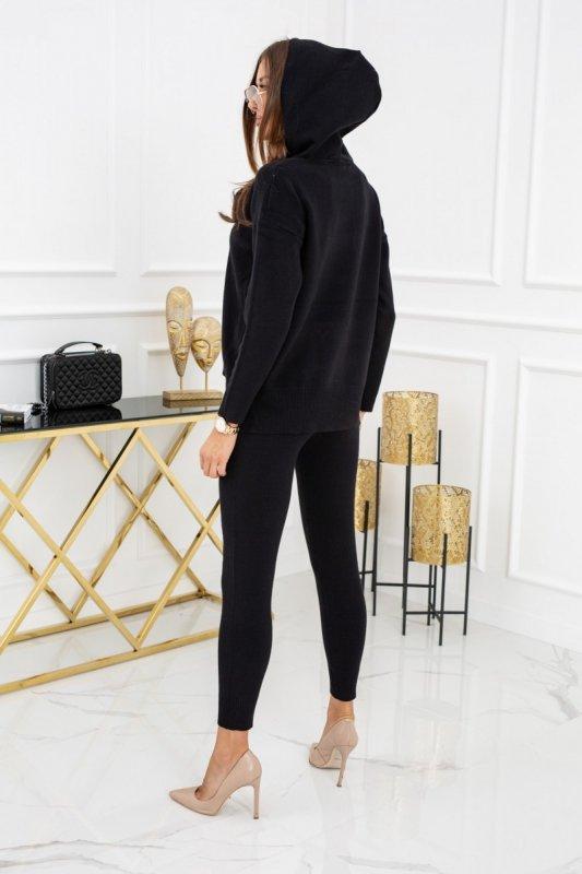 Komplet sweterkowy Andrea Black CH308