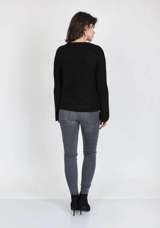 Sweter Kylie SWE 117 Czarny