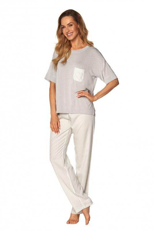 Piżama Victoria SAL-PY-1170 Szara
