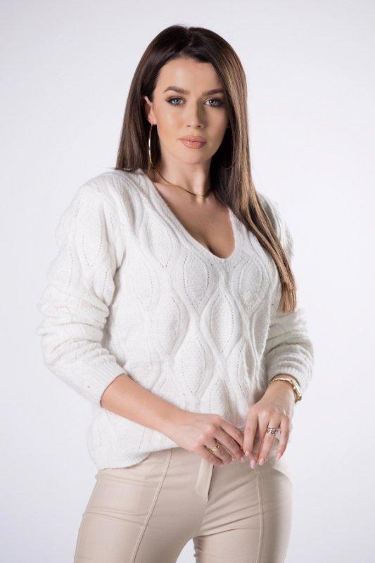Sweterek Emma M82992 Cream