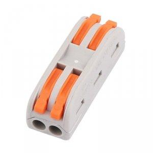 Złączka Instalacyjna 2x2x4mm 0.08-2.5(4.0)mm NYLON 32A V-TAC