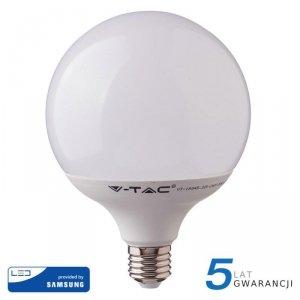 Żarówka LED V-TAC SAMSUNG CHIP 18W E27 GLOBE G120 VT-288 4000K 2000lm 5 Lat Gwarancji