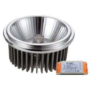 Żarówka LED V-TAC AR111 20W 230V 40st COB z zasilaczem VT-1120 4000K 1500lm