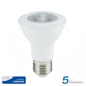 Żarówka LED V-TAC SAMSUNG CHIP 7W E27 PAR20 VT-220 6400K 495lm 5 Lat Gwarancji