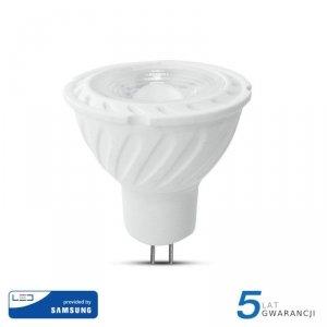 Żarówka LED V-TAC SAMSUNG CHIP 6.5W GU5.3 MR16 12V 110st VT-257 3000K 450lm 5 Lat Gwarancji