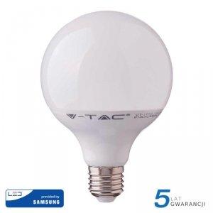 Żarówka LED V-TAC SAMSUNG CHIP 17W E27 GLOBE G120 VT-218 3000K 1521lm 5 Lat Gwarancji