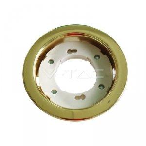 Oprawa Oczko V-TAC 1xGX53 Wpuszczana Okrągły Złoty VT-715