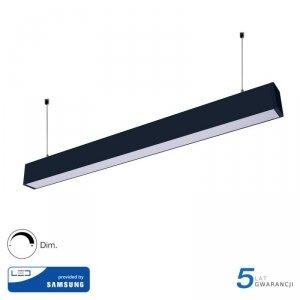 Oprawa V-TAC LED Linear SAMSUNG CHIP 60W Góra/Dół Do łączenia Zwieszana Czarna 120cm VT-7-60 4000K 6000lm 5 Lat Gwarancji