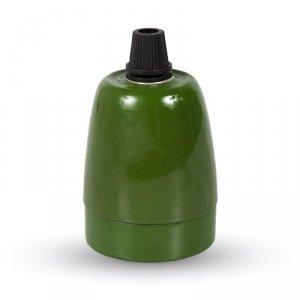 Oprawka Porcelanowa Zielona V-TAC VT-799 5 Lat Gwarancji