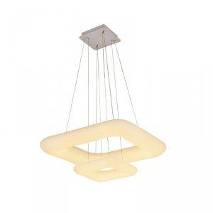 Oprawa LED V-TAC 68W Zwis Kwadrat Zmiana Barwy Światła D:600x300 Ściemnianie Biały VT-7608 2700K-6400K 6000lm 3 Lata Gwarancji